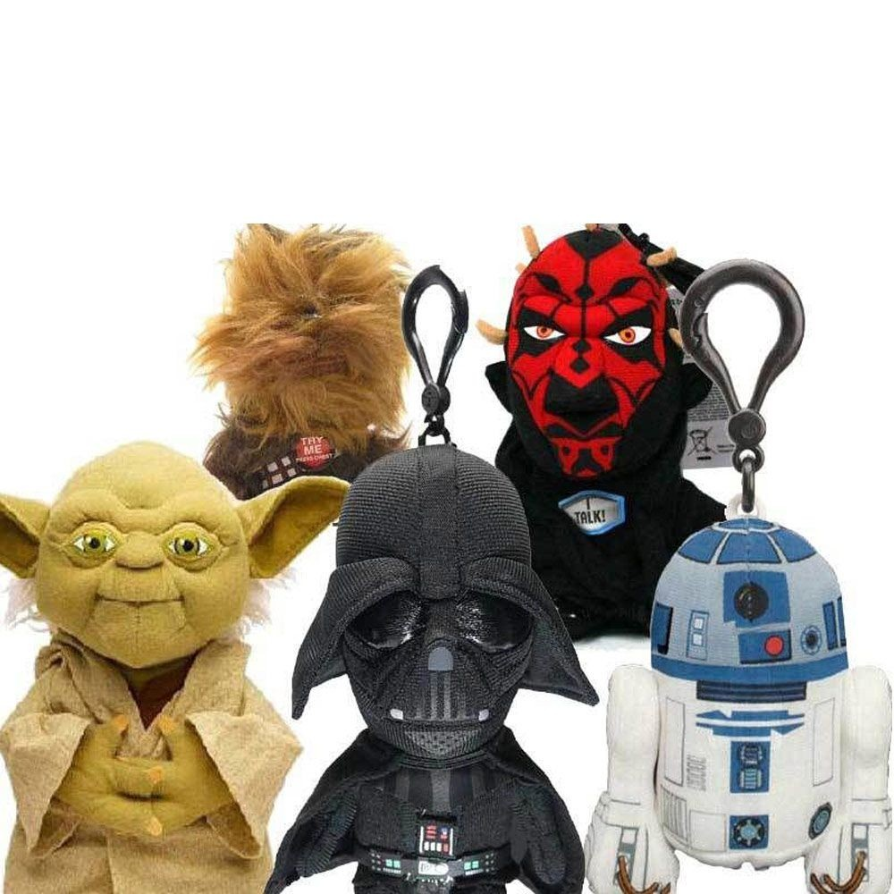 clip mini peluche parlante star wars 6 50. Black Bedroom Furniture Sets. Home Design Ideas