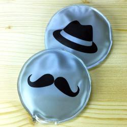 2 chaufferettes moustache