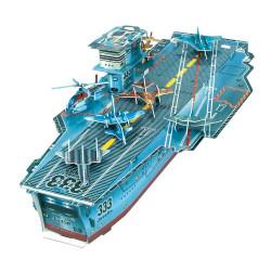Maquette porte-avion et ses 9 avions