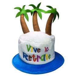 Chapeau Vive la retraite