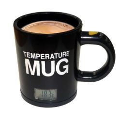 Mug avec température