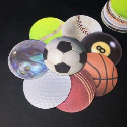 Dessous de verre balles de sport