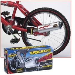 TurboSpoke, échappement vélo