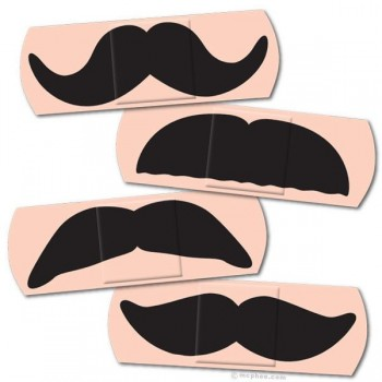 Pansements moustache