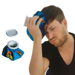 Poche de glace anti-douleur en tissu