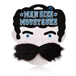 Grosse moustache noire