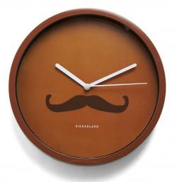 Horloge murale Moustache
