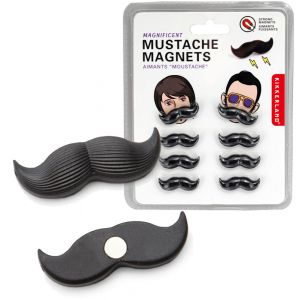 Magnets petite moustache x 8