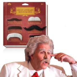 Moustaches de grands littéraires