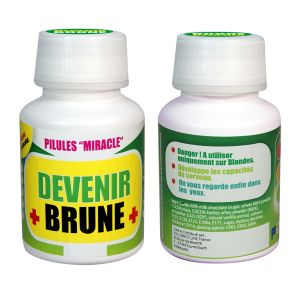 Médicament Pilules Miracle, Devenir Brune