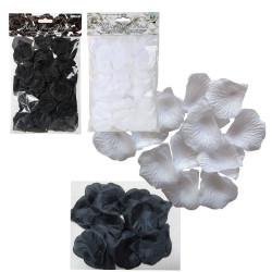 Pétales de rose Noirs & Blancs