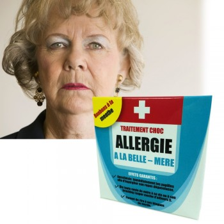 Médicament Allergie à la belle-mère