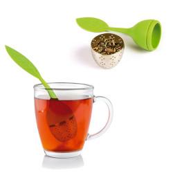 Boule à thé et sa coupelle