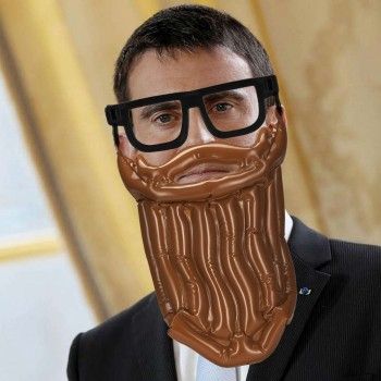 Look hipster gonflable