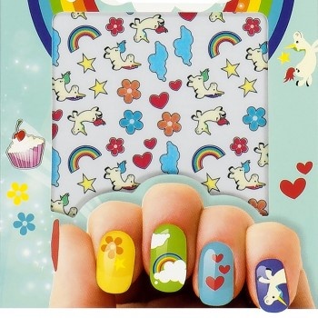 Stickers Licorne pour ongles
