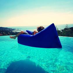 Hamac sofa auto-gonflant bleu