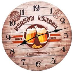 Horloge Soirée Mousse