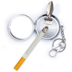 Porte-clé cendrier de poche
