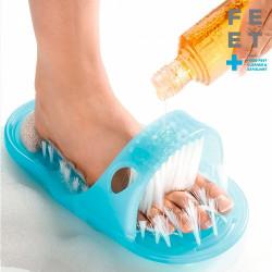 Chausson exfoliant soin des pieds
