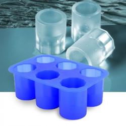 Moule silicone 6 verres de glace