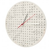 Horloge mots m&ecirc;l&eacute;s