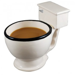 Mug toilettes, les WC sur votre table