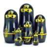 Poupes russes Matryoshka design Ninja