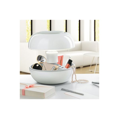 Lampe design chargeur joyo blanche 109 40 - Lampe design blanche ...