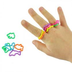 Bagues élastiques à mémoire de forme silly rings