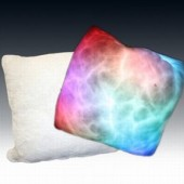 Coussin lumineux lumi&egrave;res douces