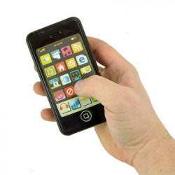 iPhone en chocolat noir