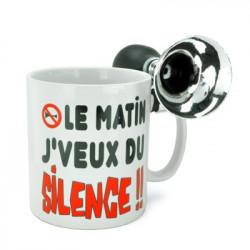 Mug trompette Silence