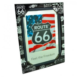 Miroir Route 66 couleur