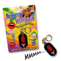 Porte-clés Orgasme