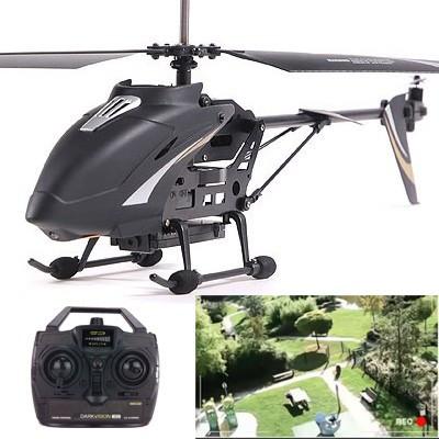 DARKVISION, hélicoptère avec caméra embarquée