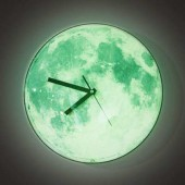 Horloge design clair de lune