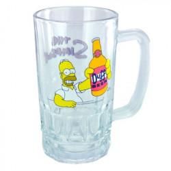 Chope à bière Homer Simpsons Duff