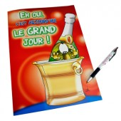 Carte A4 Grand jour... anniversaire