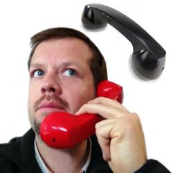 Combiné téléphone rétro bluetooth