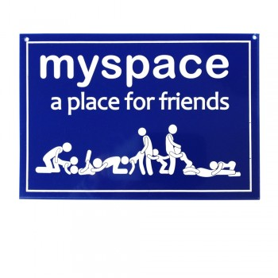 Plaque de porte Myspace