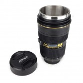 Mug objectif photo inox XL