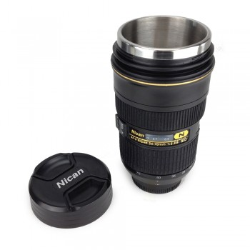 Mug objectif photo inox XL