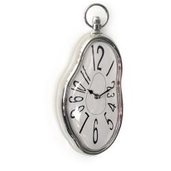 Horloge MURALE fondante façon Dali chiffres arabes