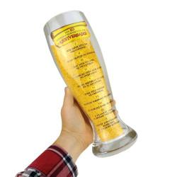 Verre à bière géant dix commandements anniversaire