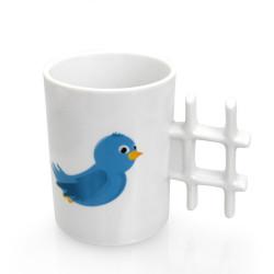 Tweet mug, la tasse twitter