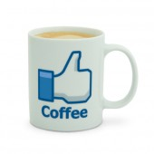 Mug caf&eacute; J&#039;aime Facebook