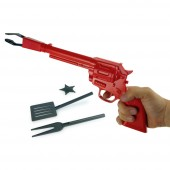 Set barbecue pistolet du sh&eacute;rif