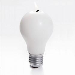 Bougie ampoule réchauffement climatique