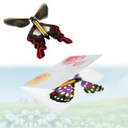 Papillon magique surprise en papier
