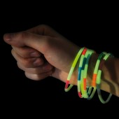 Bracelets phosphorescents par 6